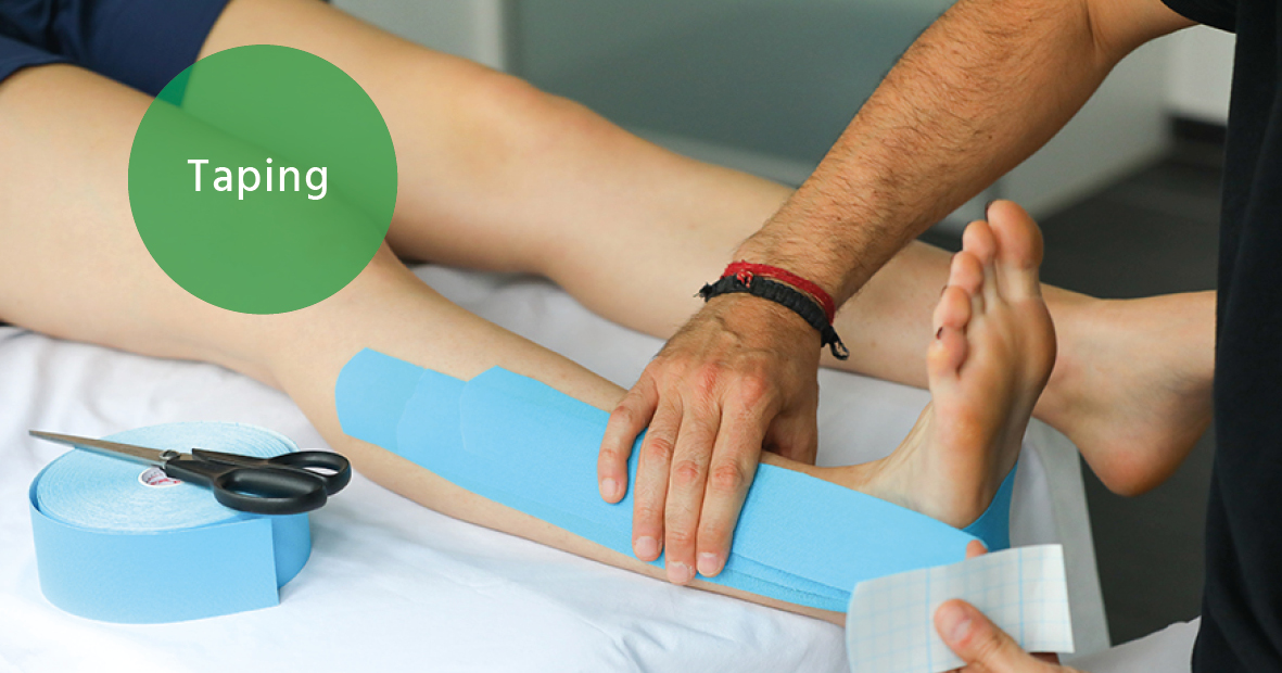 Taping  Therapie Brunner & Bonesso